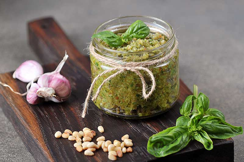 Cannabis-Pesto – Genial vital & Super lecker!