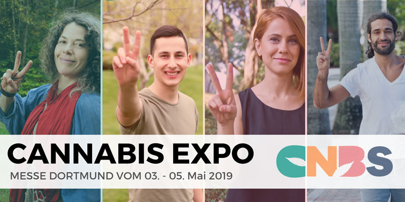 """Give Cannabis a new Face"" : Die CNBS Hanfmesse in Dortmund"
