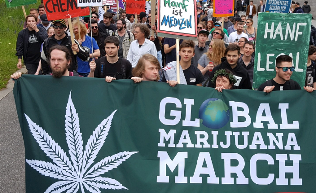 Sei dabei! Der Global Marijuana March 2018 steht in den Startlöchern